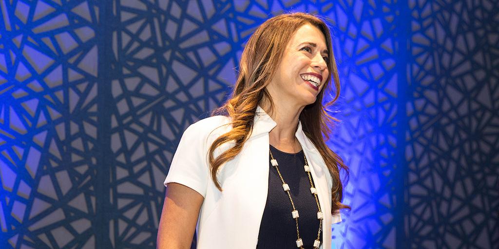 Rebecca Clyde giving a presentation on Botco